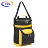 Custom antique style food delivery shoulder lunch cooler bag,picnic insulated cooler bag for wine