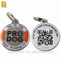 Strong holder dog tags qr with different id number
