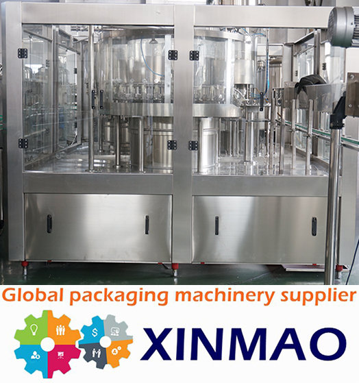 Inline Filling Systems pure water bottling plant /liquid condom filling machine