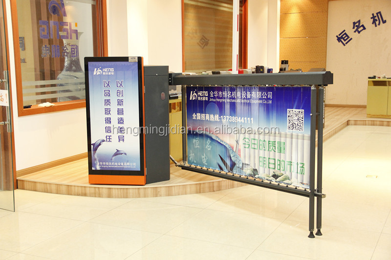 Advertising Traffic Automatic Boom Barrier Gate
