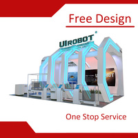 China Display System Malaysia Exhibition Booth Contractor