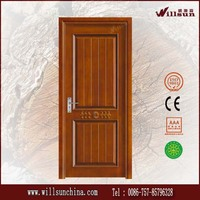 Selling well in American market best wood door design for interior