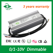 Shenzhen factory 12v 24v dc LED driver waterproof power supply led driver ip66 for Street Light 100w 200w 300w