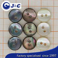 2015 OEM colourful cat eye shell button