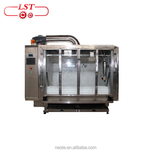 Chocolate beans molding machine and polishing machine for peanuts, raisins , almonds , puffed millet and other grains
