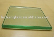 colored Laminated glass(blue,green,grey,white)