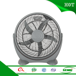 12V DC oscillating grill exhaust fan portable ventilation stand box fan