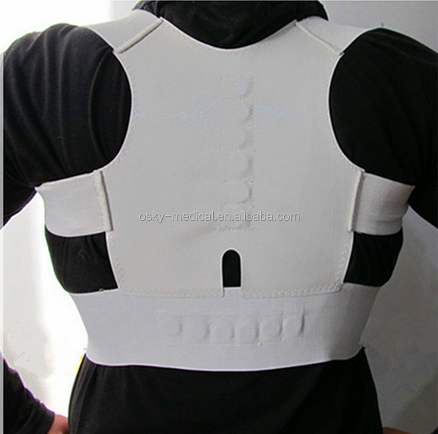 CE approved physical therapy magnetic back posture corrector