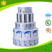 Custom Waterproof Rolled Label Sticker adhesive label