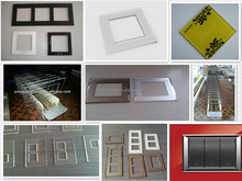 wall socket glass switch panel,light switch glass plates, electrical touch switch glass