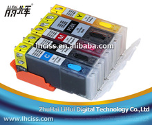 LiFei refillable ink cartridge with chip for canon PIXMA MX721 MX921 IX6810