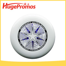 Plastic 175g Ultimate Frisbee Customized Solid Color Flying Disc