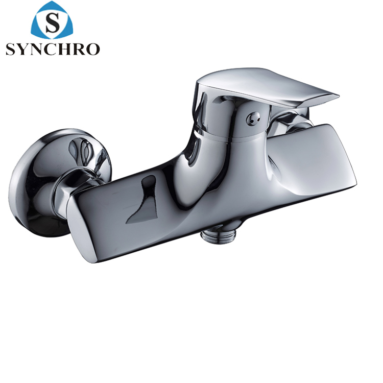 SKL-6903 SYNCHRO solid copper wall mounted antique bath shower faucet