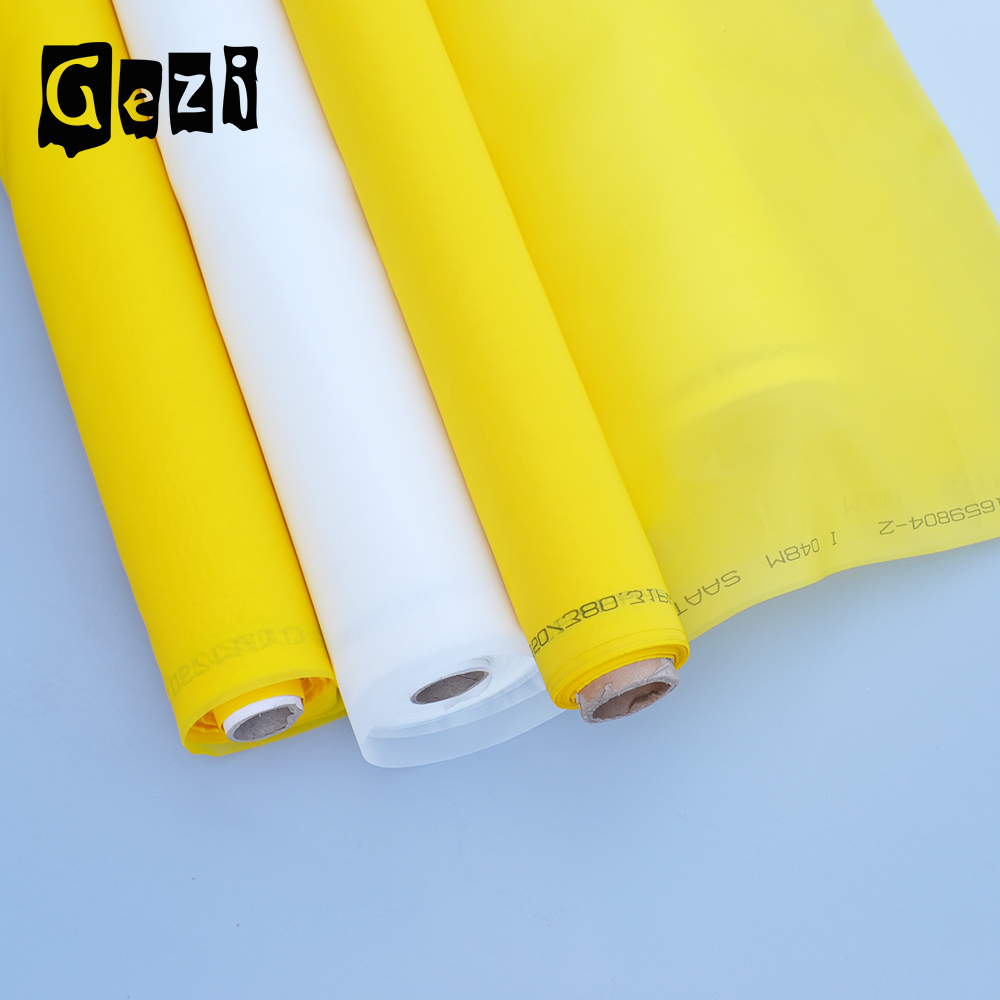 Gezi screen nylon polyester print/printing mesh fabric for screen printing for t-shirt