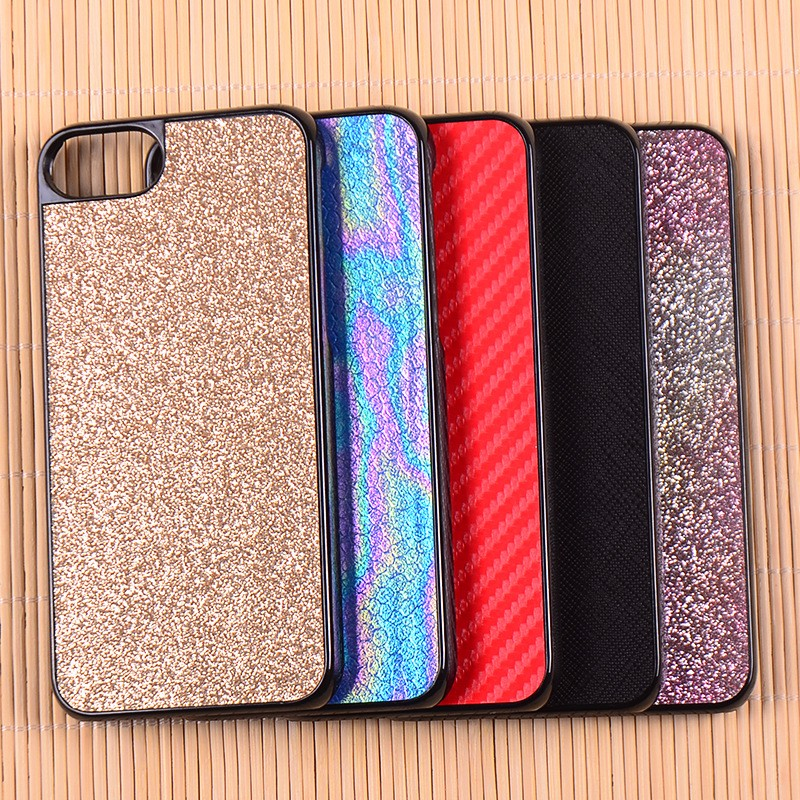 High Quality Fashion Bling Glitter PC Hard Case Back Cover For iPhone 7 7 Plus