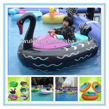 Motorized Cartoon Tube kids motorized bumper boats,electric bumper boats for swimming pool