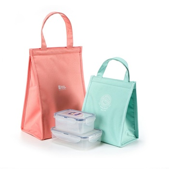 Picnic Lunch Thermal Non Woven Cooler Bag Collapsible Soft Bag Insulated up to 6 hours