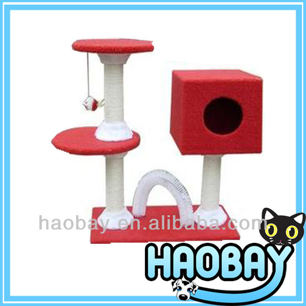 Red Cat Personal Park Cat Scratch Tree Furniture