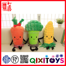 Vegetables Fruit Plush Toy Stuffed Doll Birthday Baby Gift Fruit Doll