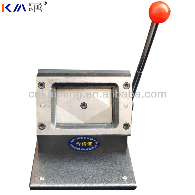 verified factory high quality pvc id card cutter