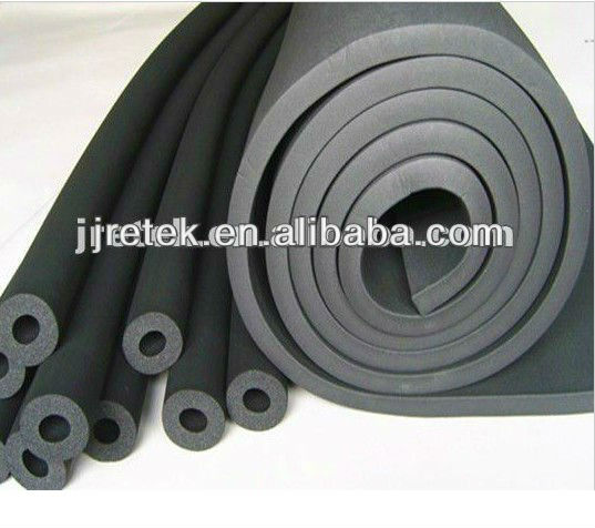 high quality nitrile rubber foam insulation pipe/hose/ tube for air conditioning