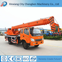 Double Hook Hot Selling New Condition Manual Hydraulic Crane Truck for Sale
