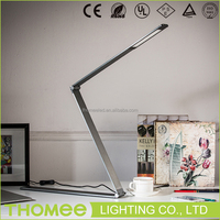 Hot sale Thomee lighting touch switch 10W metal portable luminaire table led lamp for hotel