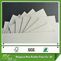 High quality 1.4mm grey paper thin chipboard