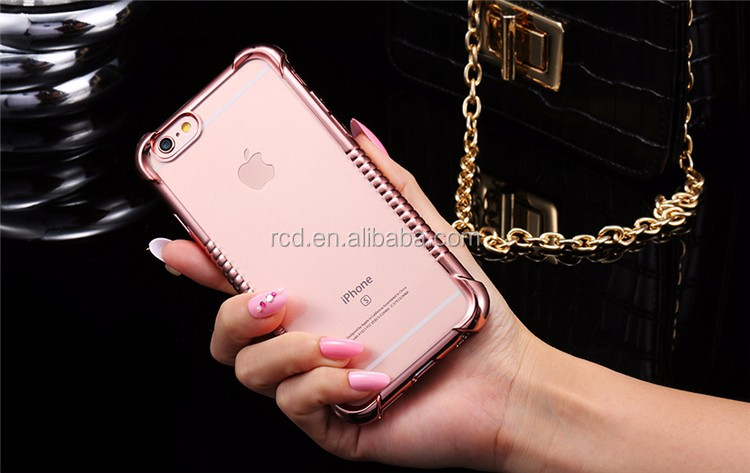 2016 Hotselling Wholesale Alibaba Online Girly Shockproof Soft TPU Phone Case For IPhone 5 SE 6 6S Plus