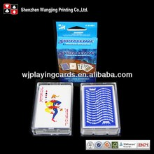 Customized Plastic Case Packing Playing Cards/Poker Cards