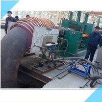 168 Heatingl Pipe Hot Forming Elbow
