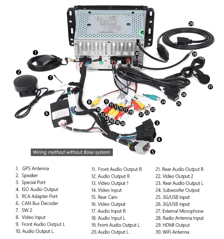 eonon ga8180 for chevrolet gmc buick android 7 1 quad core 7 inch rh alibaba com eonon radio wiring diagram eonon e46 wiring diagram