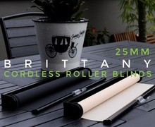 25mm spring loaded roller blinds , spring roller shade