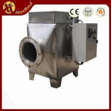 temperature control flow air duct heater