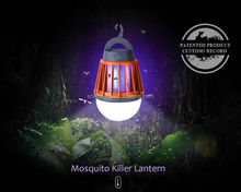 360 - 400nm LED UV Lights Electronic Attracting Mosquito Killer Lamp