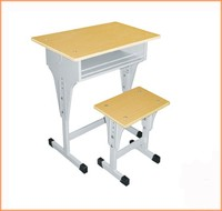 School Furniture Classroom Single Seat School Desk and Chair Set