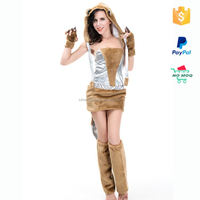 Drop Shipping XXL Cosplay Women Sexy Animal Costumes