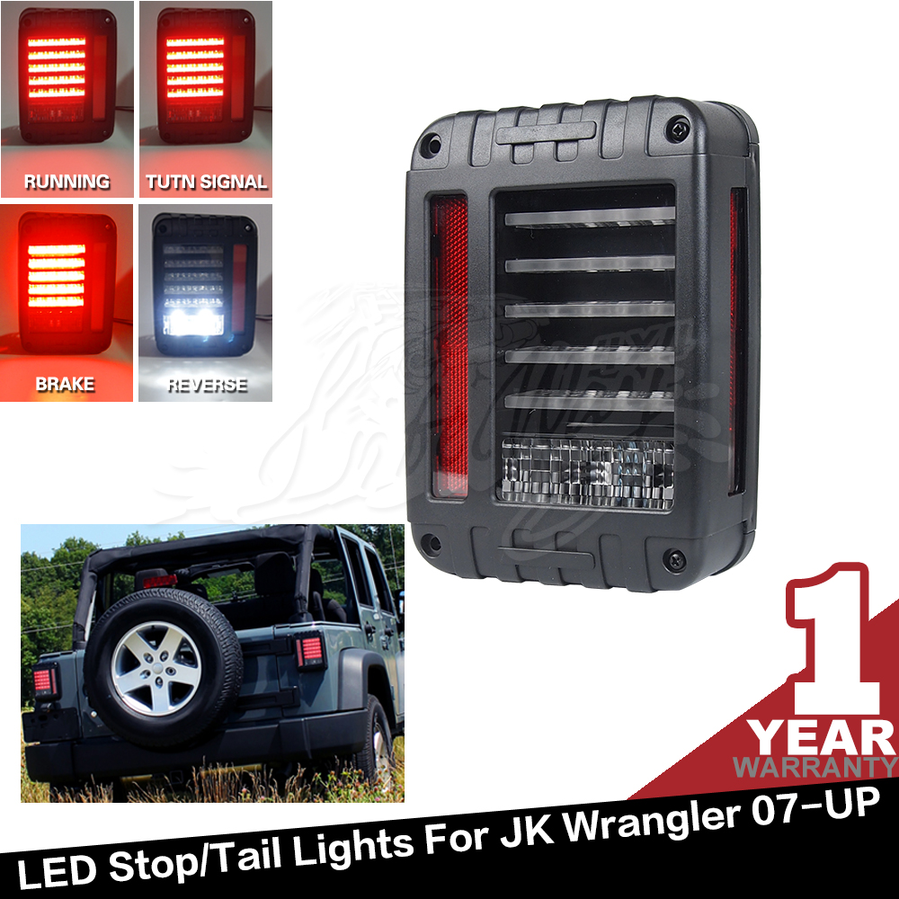 Led Tail Lights for Jeep ATV 12V 4x4 Automobiles & Motorcycles