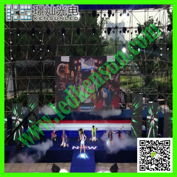 Energy saving full color HD LED video display screen dot correction led screen