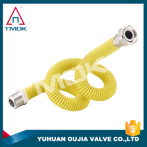 brass air condition pipe fittings with plastic outside yellow color copper in aluminum elbow hose auto ss304/316 connector