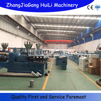 vacuum cleaner PVC PP PE EVA softly spiral flexible hose pipe tube extrusion machine production line