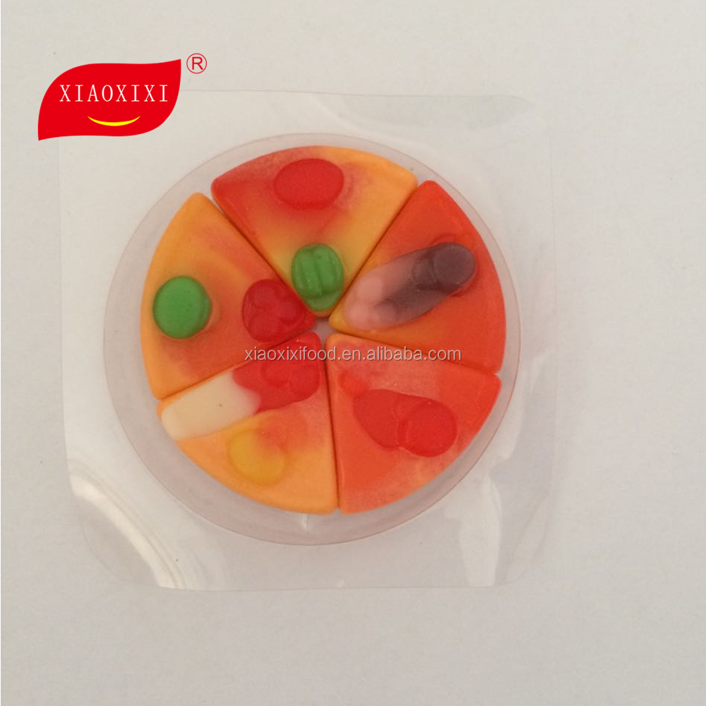 halal gummy pizza candy chocolate turkish delight in China