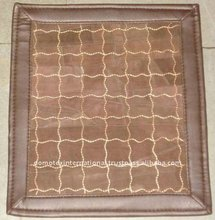 Handmade Leather Embroidery Rugs