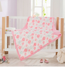 Factory OEM 100% bamboo in stock baby quilted washable warm kids baby blanket