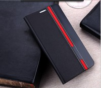 Flip leather Case Stand Magnetic Open Ports Customized PU Leather Folio Stand Protective Case Cover For Nolia 3110