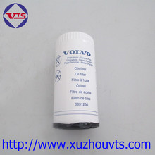 Volvo excavator engine parts 3831236 diesel fuel oil filter