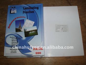 Laminating pouch film for Thailand Market