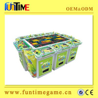IGS original dragon king shooting fish game machine / fish catcher arcade game machine with bill acceptor from Funtime company
