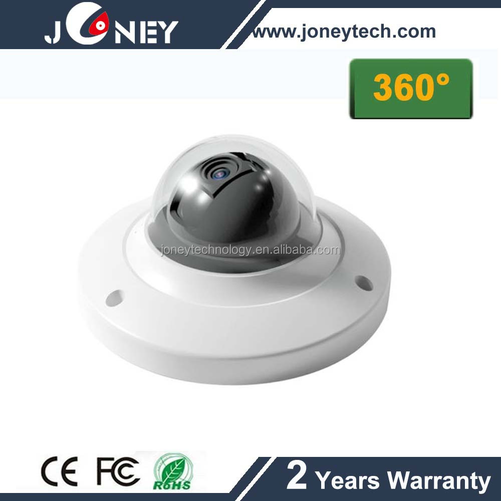 Fisheye 360 degree wide-angle Full HD 3MP net work support option WIFI cctv IP camera