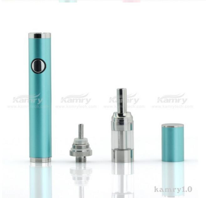 Portable vaporizer e-cigarette kamry 1.0 ego vaporizer pen with 650mah e-cigarette battery